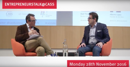 CEO Alberto Lopez-Valenzuela was featured as part of EntrepreneursTalk@Cass