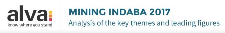 Mining Indaba 2017 infographic