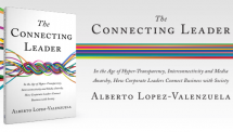 The Connecting Leader, a manifesto for Corporate Affairs and Communications