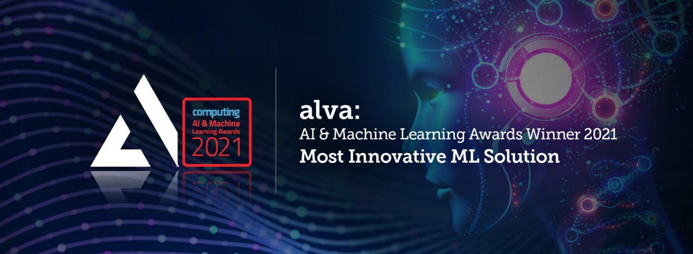alva named winner in AI & Machine Learning Awards 2021